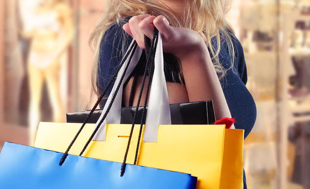 провести выходные в походах по магазинам с мужем