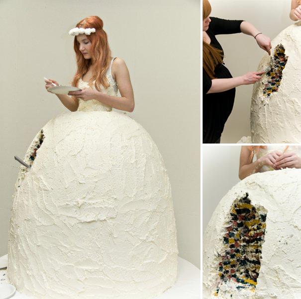 Свадебное платье на десерт