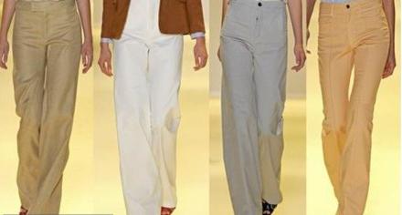 Модные женские брюки.