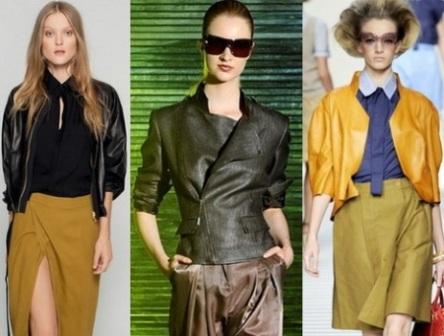 Модные жакеты. Сезон осень-зима 2012-2013