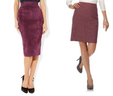Правильно подобранная юбка, под определенный тип фигуры
