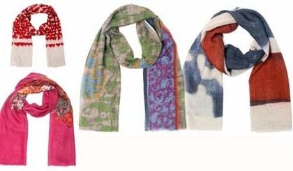 Модные шарфы для осени-зимы 2012-2013