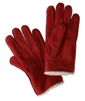 Перчатки зимой